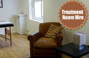 Treatment Room for hire at City Balance in Derby